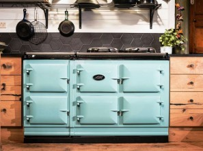 AGA range with electronic controls