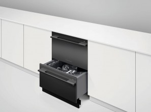 Dishwasher in a sophisticated black colour