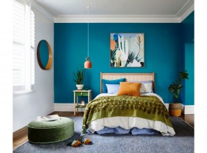Bedroom makeover with Dulux