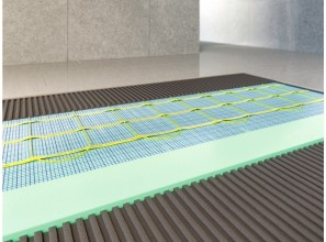 200W in-screed mats for bathroom floor heating