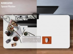 Stylish and adjustable computer monitor designed to help you enjoy a tidy desk