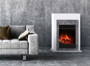 A range of 6 electric fires with LED flame effect priced from $169 to $2799