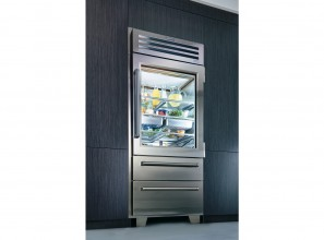 Deluxe Sub-Zero refrigerator priced from $34,995