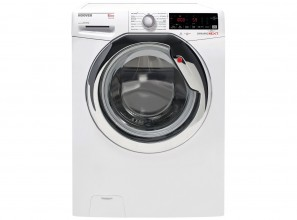 Hoover 8.5kg washing machine can be operated from a smart phone.