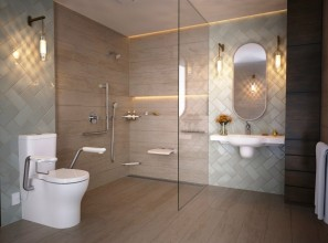 Bathroom fittings range designed for older people