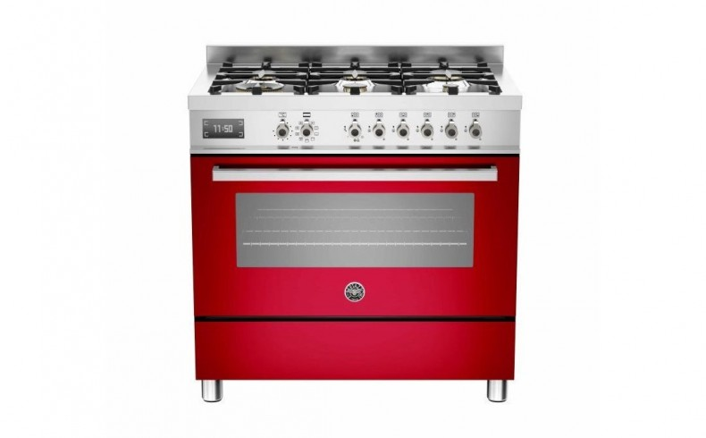 20190621C BERTAZONNI Professional Upright Electric 90cm Red