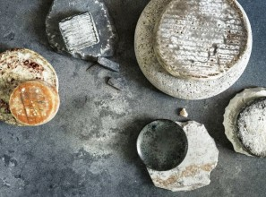 The concrete-look for kitchen design
