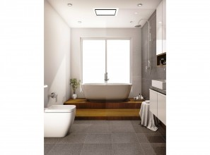 IXL bathroom light/heater/ventilation units for premium bathrooms