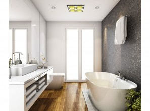 Classic combination bathroom lighting/heating/ventilation products