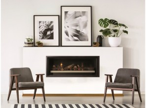 2019 gas log fires up to 1500mm long