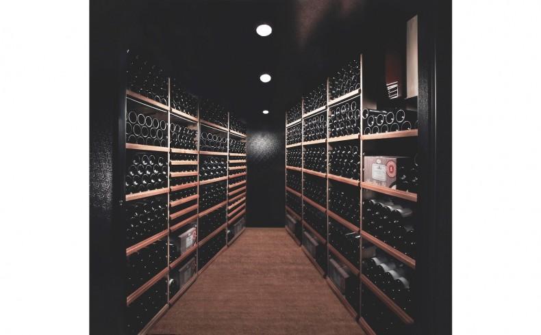 20190650C Vintec Walk-in wine cellar