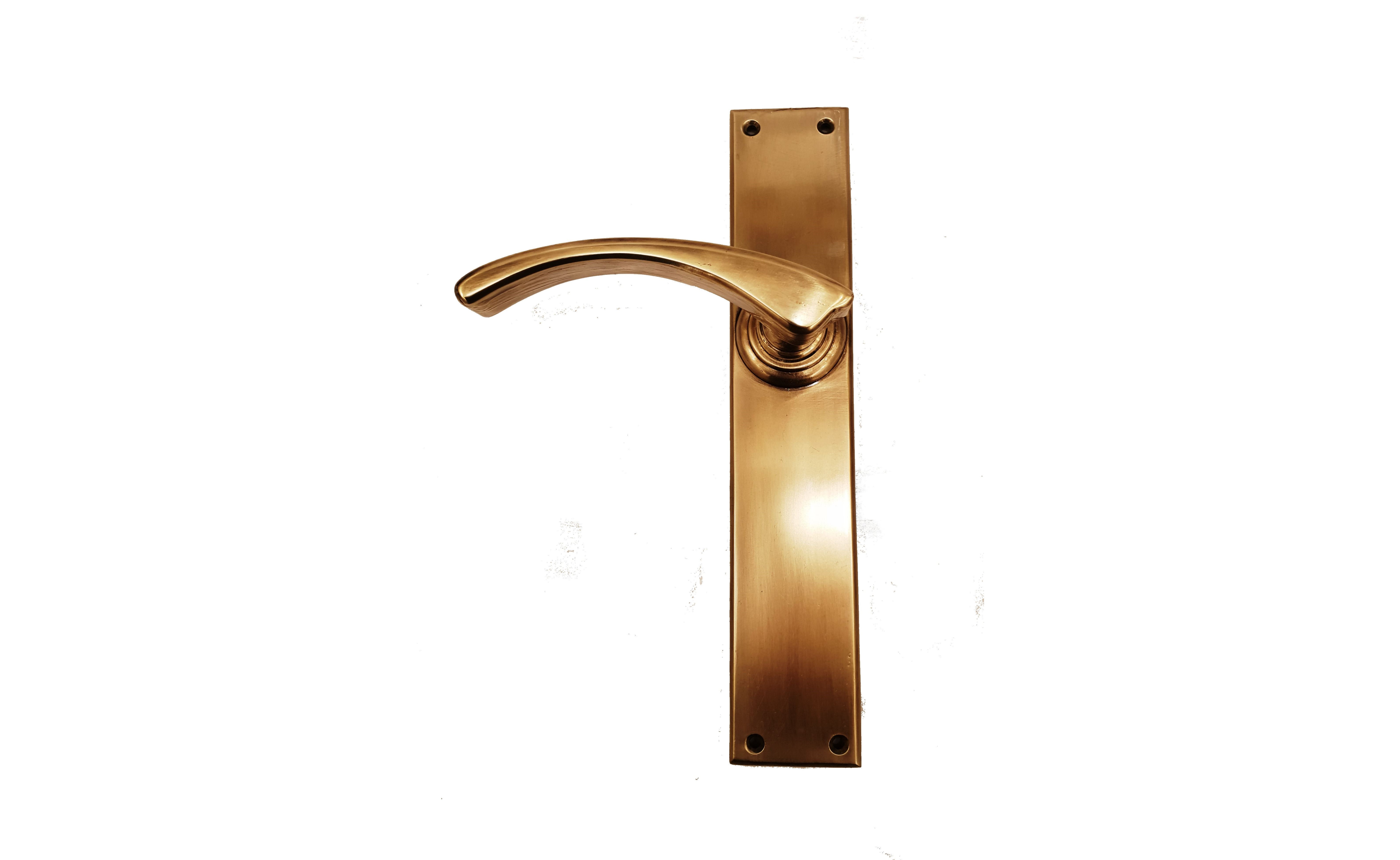 The Melbourne Handle In Antique Brass Finish Locks