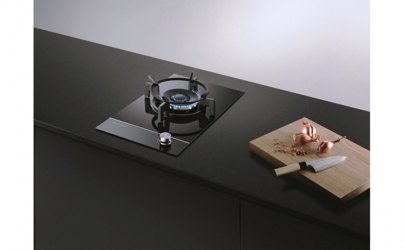 20190805A 01 Fisher & Paykel CG301DNGGB1 Gas on Glass Cooktop 30cm 1 Burner $1199