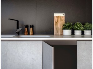 4mm thick Dekton® Slim offers a sleek profile for cladding, furniture and door panels