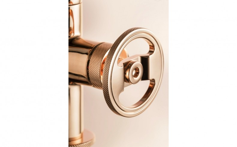 20190817B Wash Basin Mixer BOLD12RS - Rose Gold
