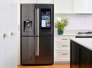 825-litre Samsung fridge
